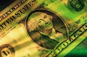 George Washington on the $1 Bill